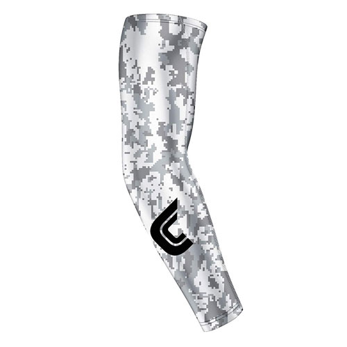 Camo Core Compression Sleeve, White, swatch