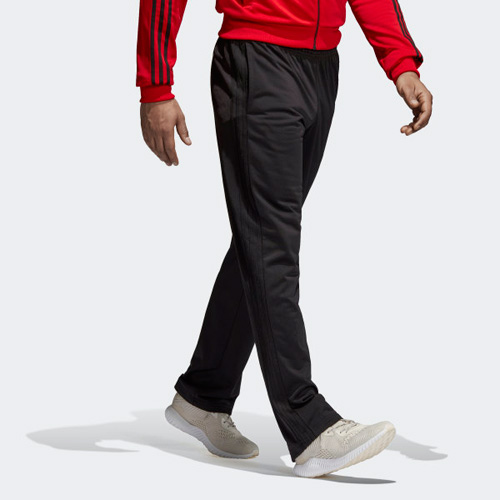 Men's Essential 3-Stripes Pant, Black, swatch