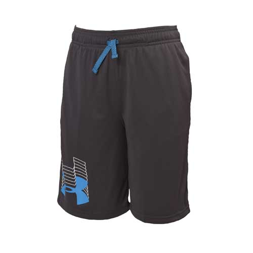 Boys' Prototype Logo Shorts, Black, swatch