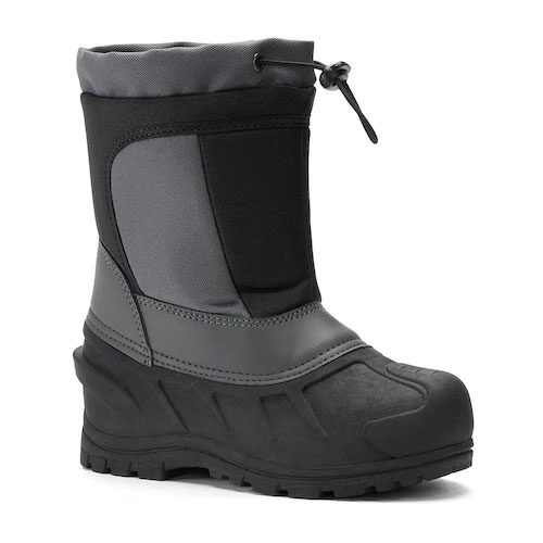 Boy's Cerebus Winter Boot, Black/Black, swatch