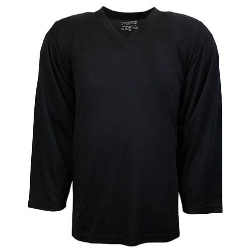 Adult DJ80 Practice Hockey Jersey, Black, swatch