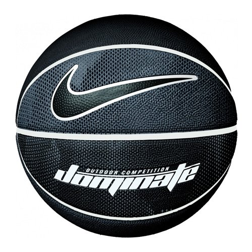Dominate Official Basketball, Black/White, swatch