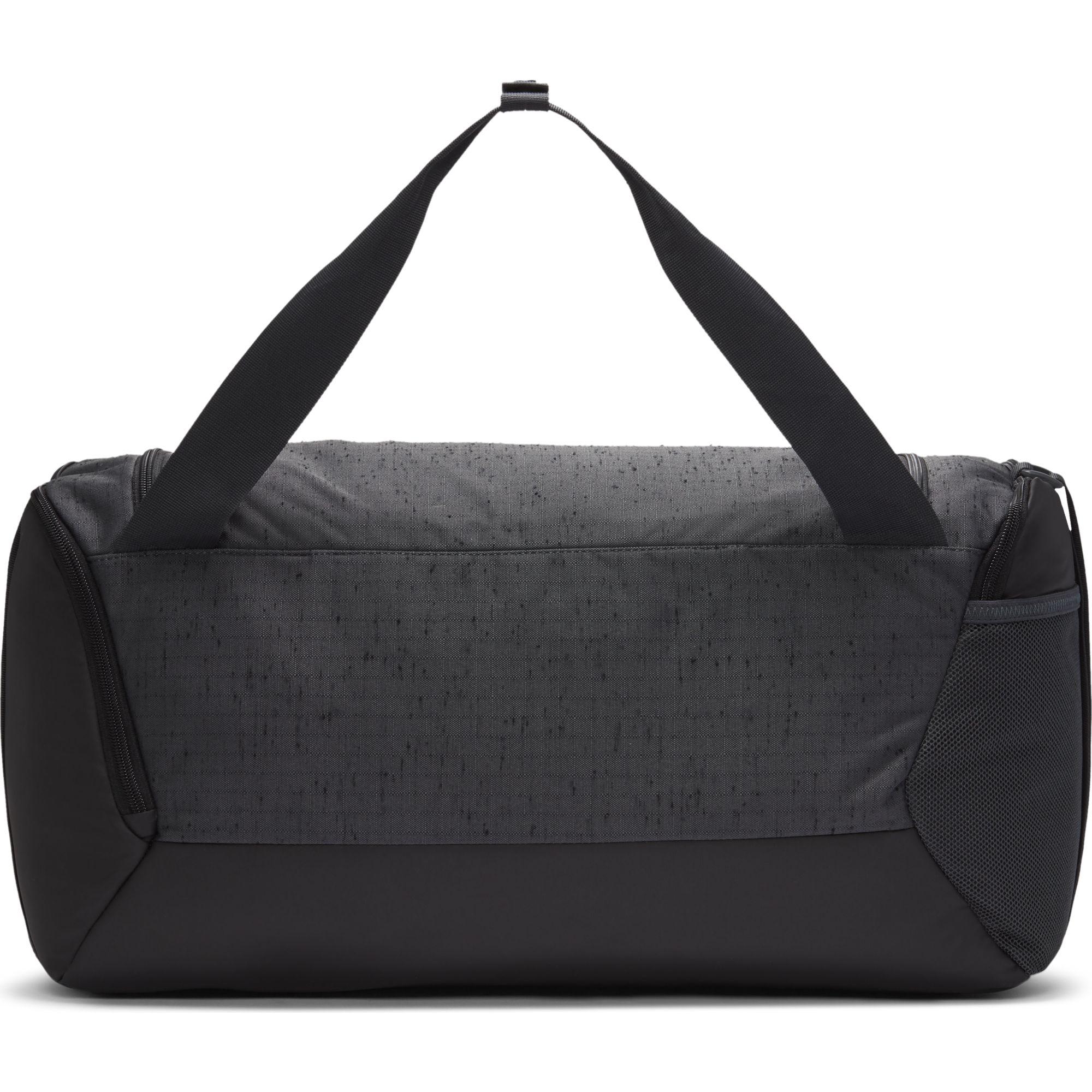 Brasilia Small Training Duffell Bag, Charcoal/Blue, swatch