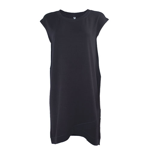 Women's Short Sleeve Dress, Black, swatch