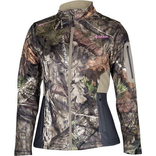 Women's Techshell Elite Jacket, Mossy Oak, swatch