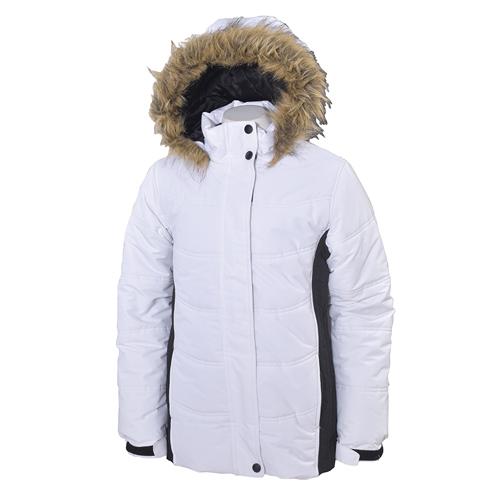 Girls' Aspen's Calling Jacket, White, swatch