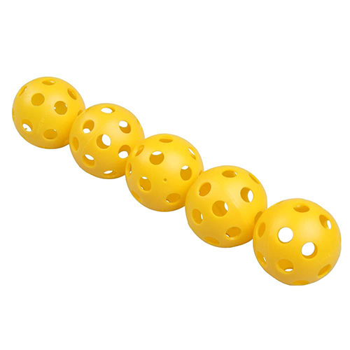 6 pk Wiffle Softballs, Gold, Yellow, swatch