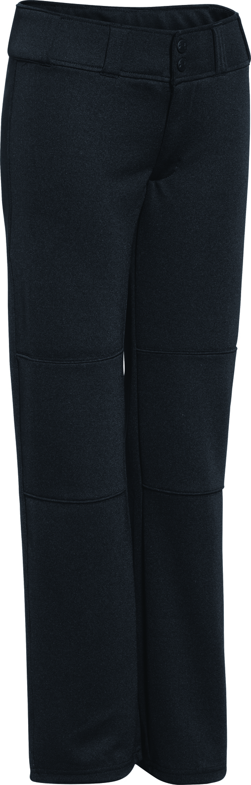 Youth Lead-off 2 Baseball Pant, Black, swatch