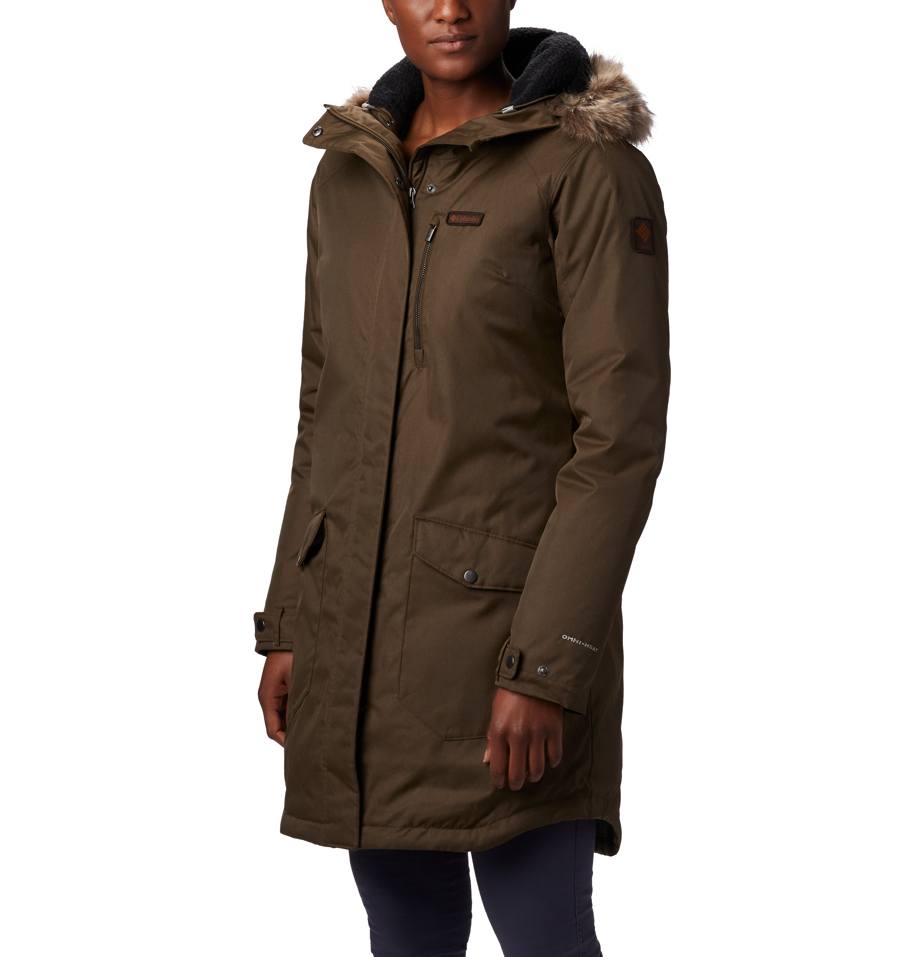 Women's Suttle Mountain Insulated Jacket, Dkgreen,Moss,Olive,Forest, swatch