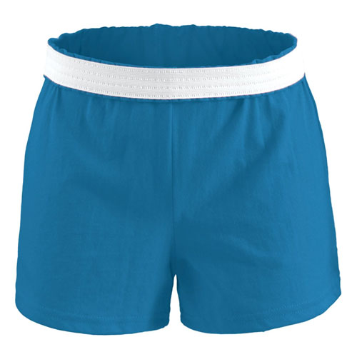 Women's Cheer Shorts, Blue, swatch