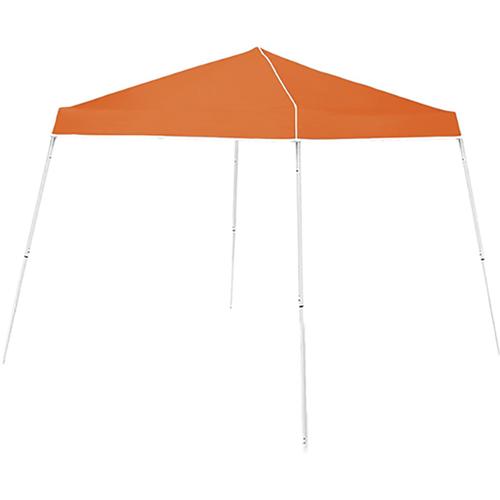 10 x 10 Slant Leg Canopy, Orange, swatch