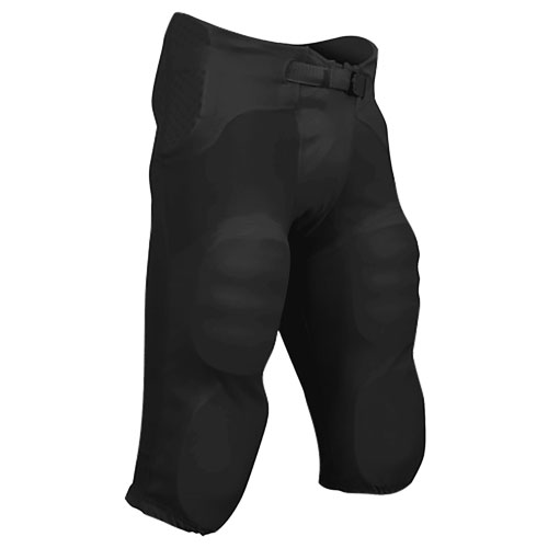 Youth Saftey Integrated Pant, Black, swatch