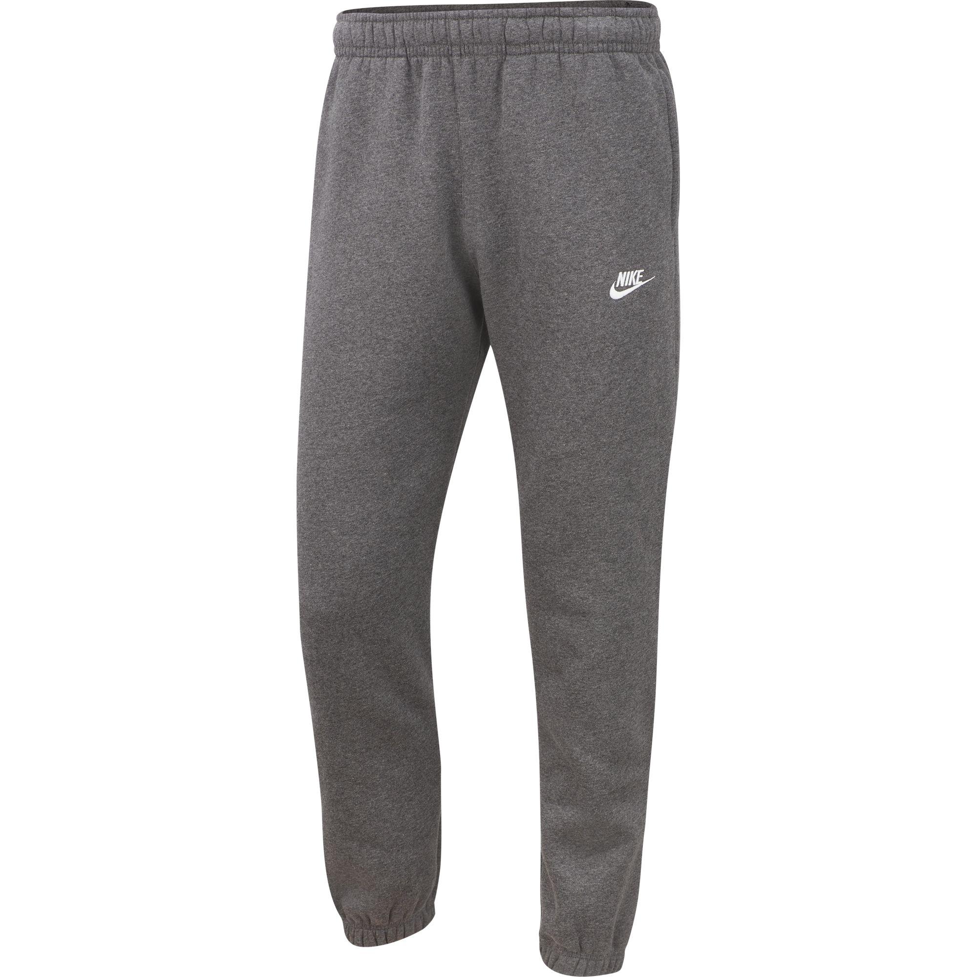 Men's Sportswear Club Fleece Pants, Charcoal,Smoke,Steel, swatch