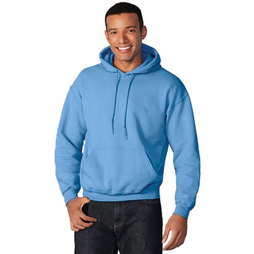 Men's Long Sleeve Fleece Pullover Hoodie, Lt Blue,Powder,Sky Blue, swatch