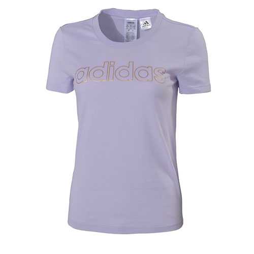 Women's Essentials Branded Short Sleeve T-Shirt, Light Purple, swatch