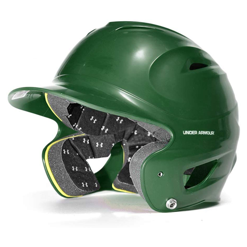 Classic Chrome Batting Helmet, Dkgreen,Moss,Olive,Forest, swatch