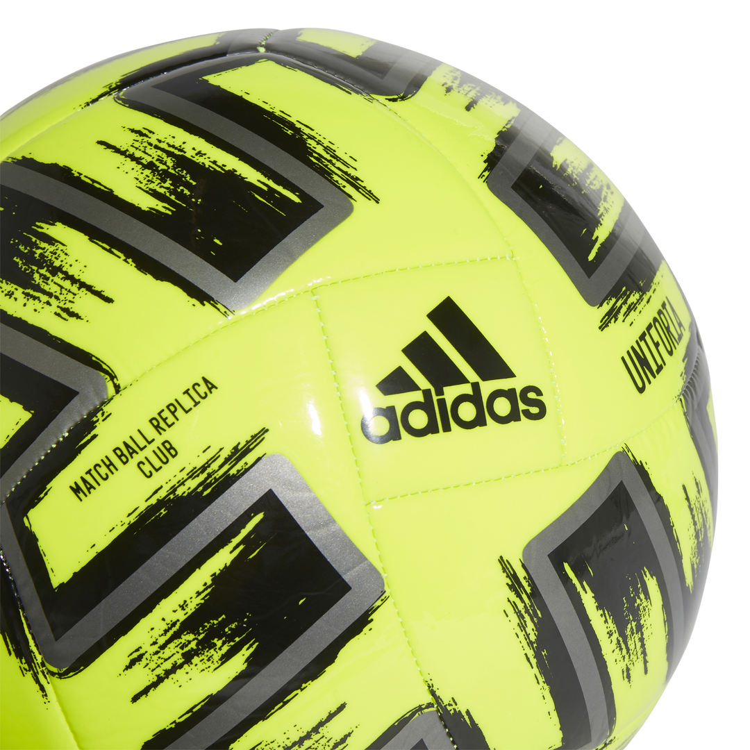 Uniforia Club Soccer Ball, Neon Yellow, swatch