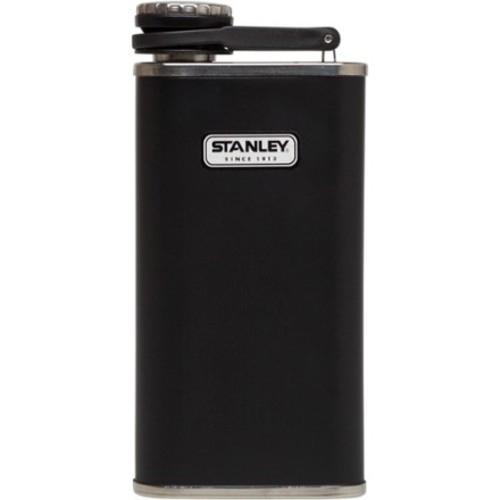 8 Oz Flask, Black, swatch