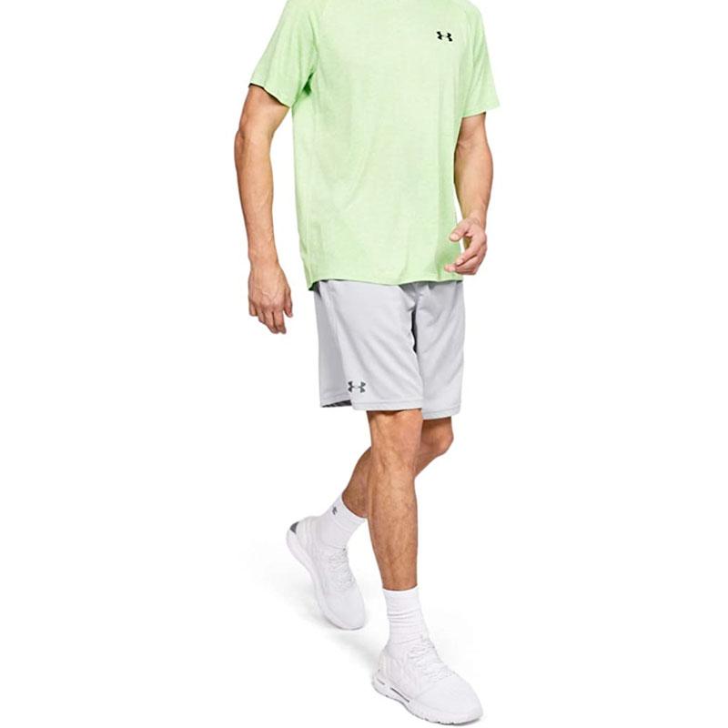 Men's Tech Mesh Shorts, Gray, swatch