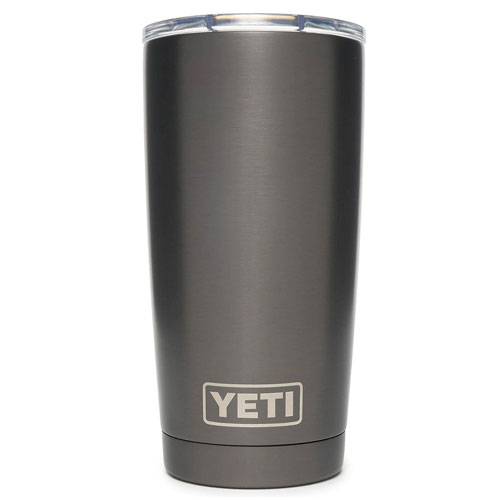 Rambler 20oz Tumbler with Magslider Lid, Graphite, swatch