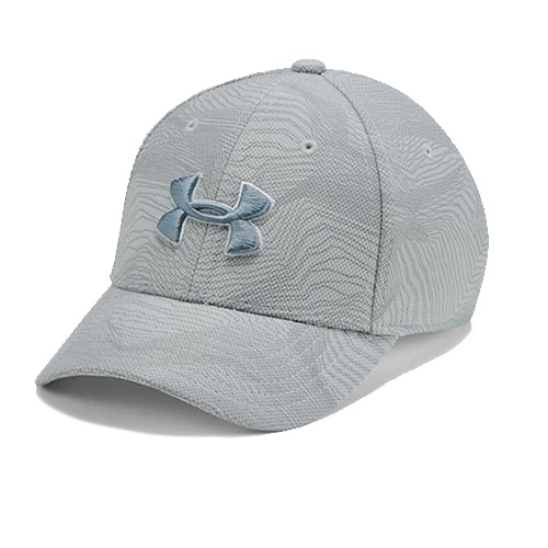 Boys' Printed Blitzing 3.0 Cap, Lt Gray,Dove Gray, swatch