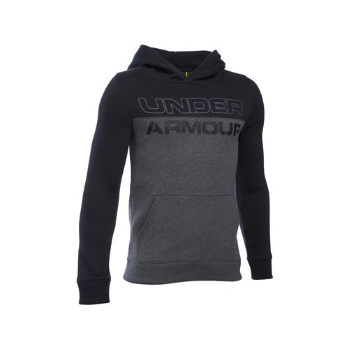 Boys' Sportstyle Graphic Hoodie, Heather Gray, swatch