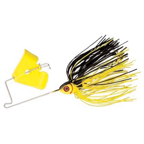 Pradco Lures Pond Magic Buzzbait, Yellow/Black, swatch