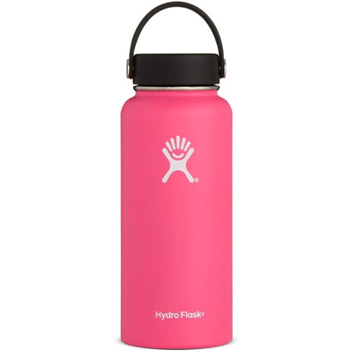 32 Oz Wide Mouth Water Bottle, Pink, swatch