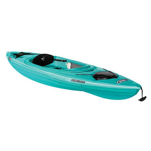 Rise 100x Fade Sit-in Kayak, Turquoise,Aqua, swatch