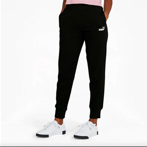 Women's Essential Sweat Pants, Black, swatch