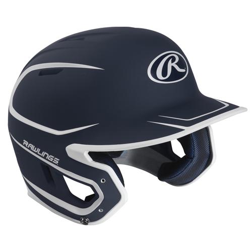 Senior MACH 2-Tone Matte Helmet, Navy, swatch
