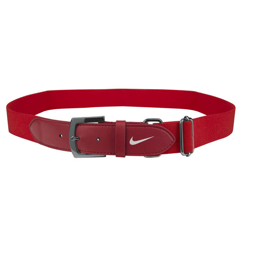 Adult Baseball Belt 2.0, Red, swatch