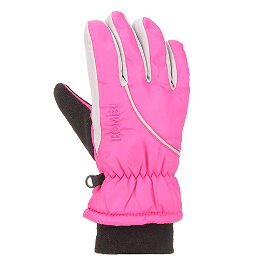 Boys' Snowball Gloves, Pink, swatch