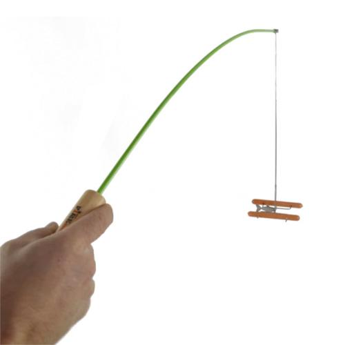 Fire Fishing Pole, Green, swatch