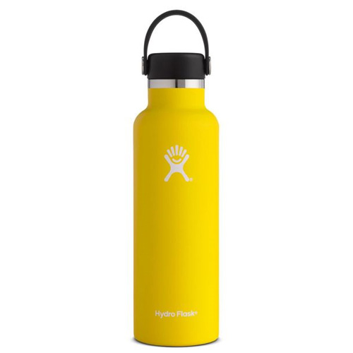 21 Oz. Standard Mouth Water Bottle, Gold, Yellow, swatch