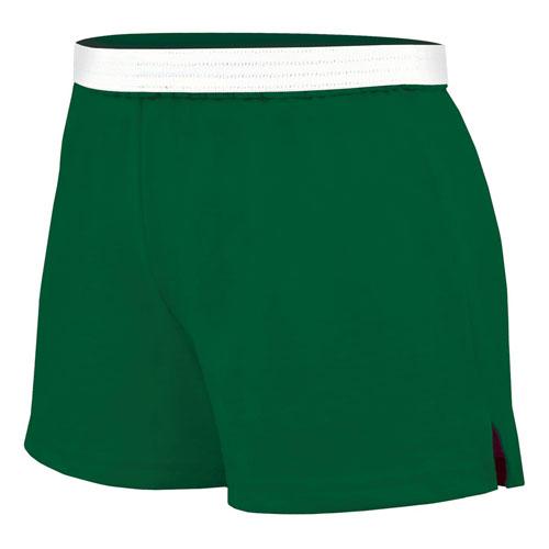 Women's Cheer Shorts, Dkgreen,Moss,Olive,Forest, swatch