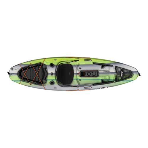 Strike 100X Sit-On-Top Angler Kayak, Green/White, swatch