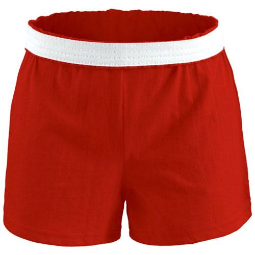 Women's Cheer Short, Red, swatch