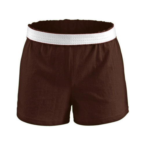 Women's Cheer Shorts, Dark Brown,Dark Natural, swatch