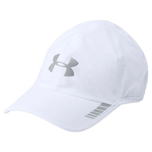 Men's Launch Armourvent Running Hat, White/Gray, swatch