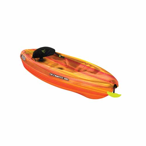 Ultimate 80X Sit-On Kayak, Red/Yellow, swatch