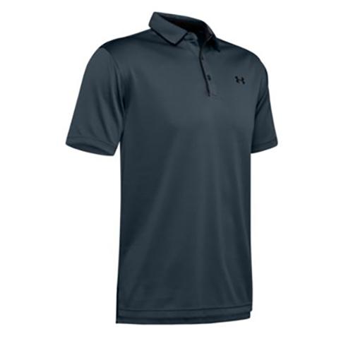 Men's Tech Polo Shirt, Gray, swatch