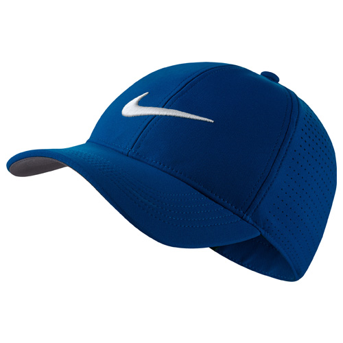 Aerobill Legacy 91 Perforated Golf Cap, Blue, swatch