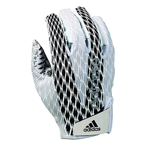 Adizero 4.0 Football Gloves, White, swatch