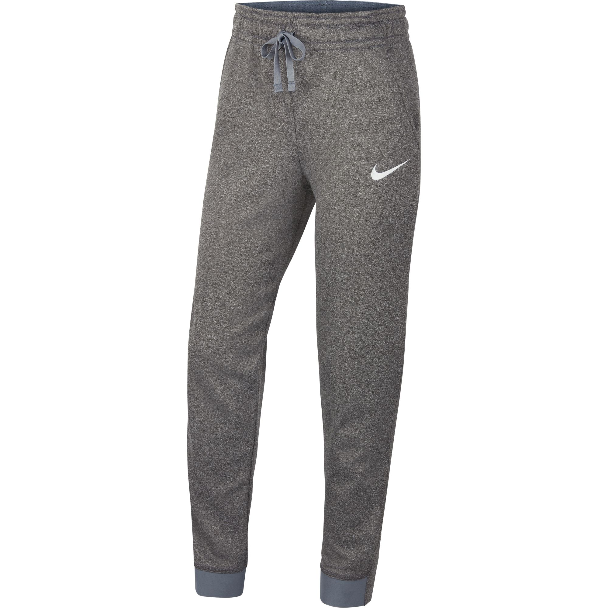 Girl's Therma Cuff Pant, Heather Gray, swatch