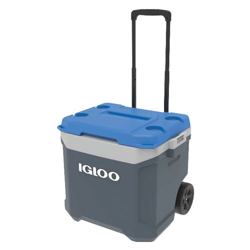 Latitude 60 Quart Roller Cooler, Blue, swatch