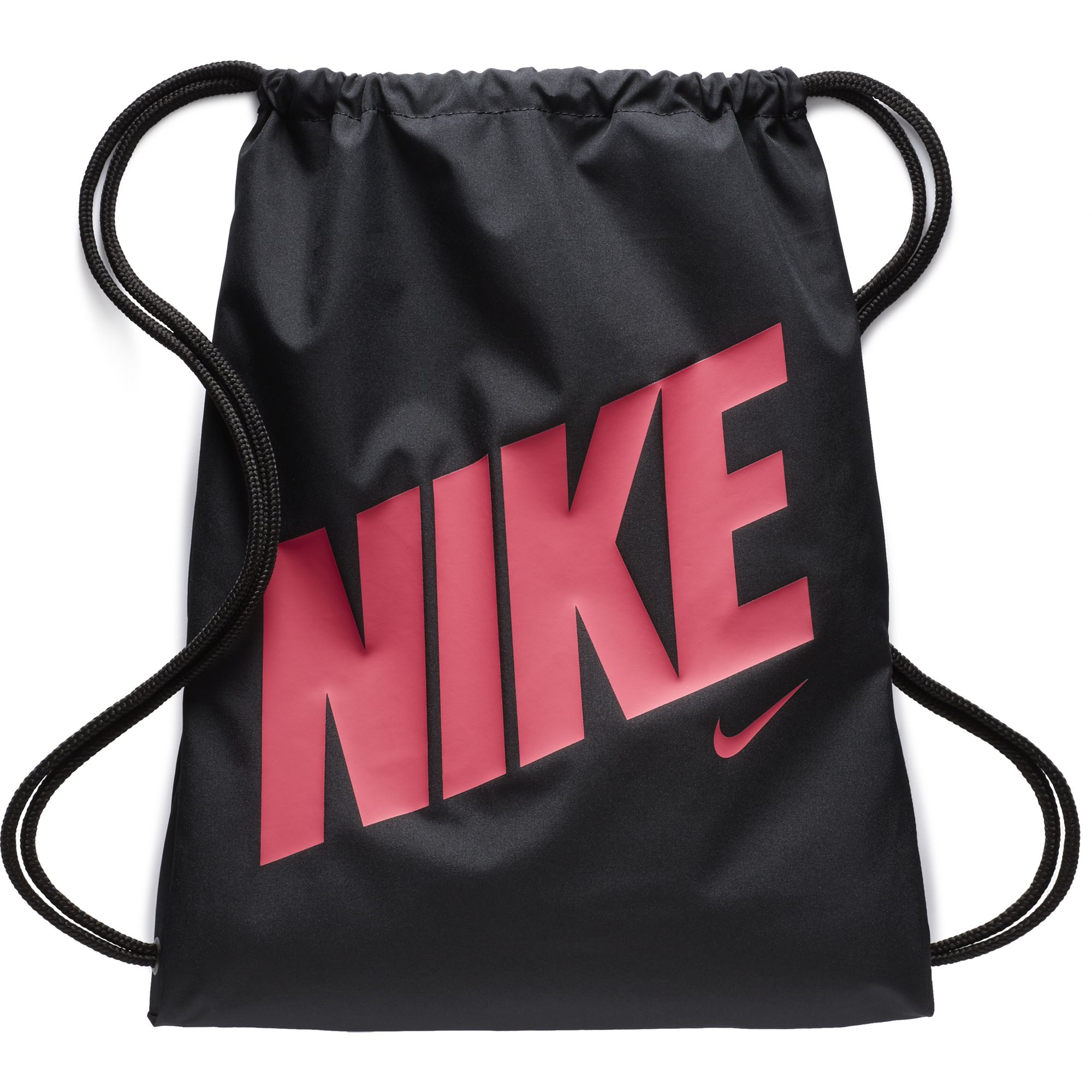 Youth Graphic Gymsack, Black/Pink, swatch