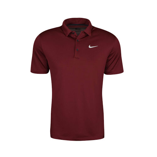 Men's Performance Polo, Dk Red,Wine,Ruby,Burgandy, swatch