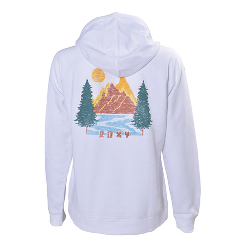 Women's Go To Tree Mountain Fleece Hoodie, , large