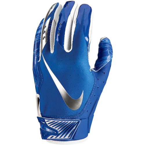 Men's Vapor Jet 5.0 Football Gloves, Royal Bl,Sapphire,Marine, swatch
